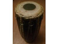 Madal Drum Nepalese Wooden Rawhide two tones £40