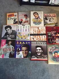 Elvis Presley collection for sale - books and dvds