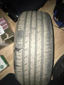 205 50 16 davanti tyres x2 part worn