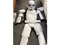 Storm trooper deluxe fancy dress suit £35standard size excellent condition