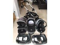 iCandy Peach Jogger 3 in 1 Travel System Pram/Pushchair/car seat