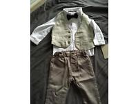 Brand new with tags mamas &a papas 3 piece suit
