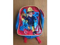 Fireman Sam kids rucksack