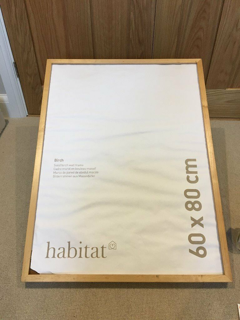 5 Solid Wood Wall Frames From Habitat Collect Gu5 In Guildford