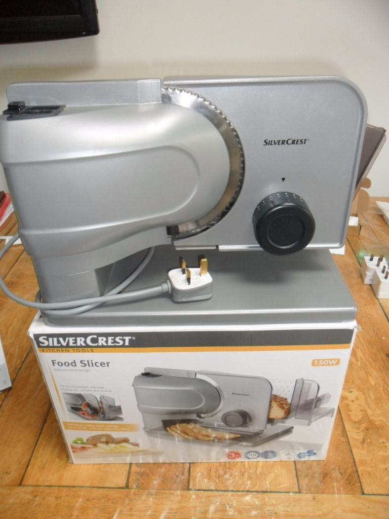 Silver Crest Lidl Food Slicer In Almost New Cond Still