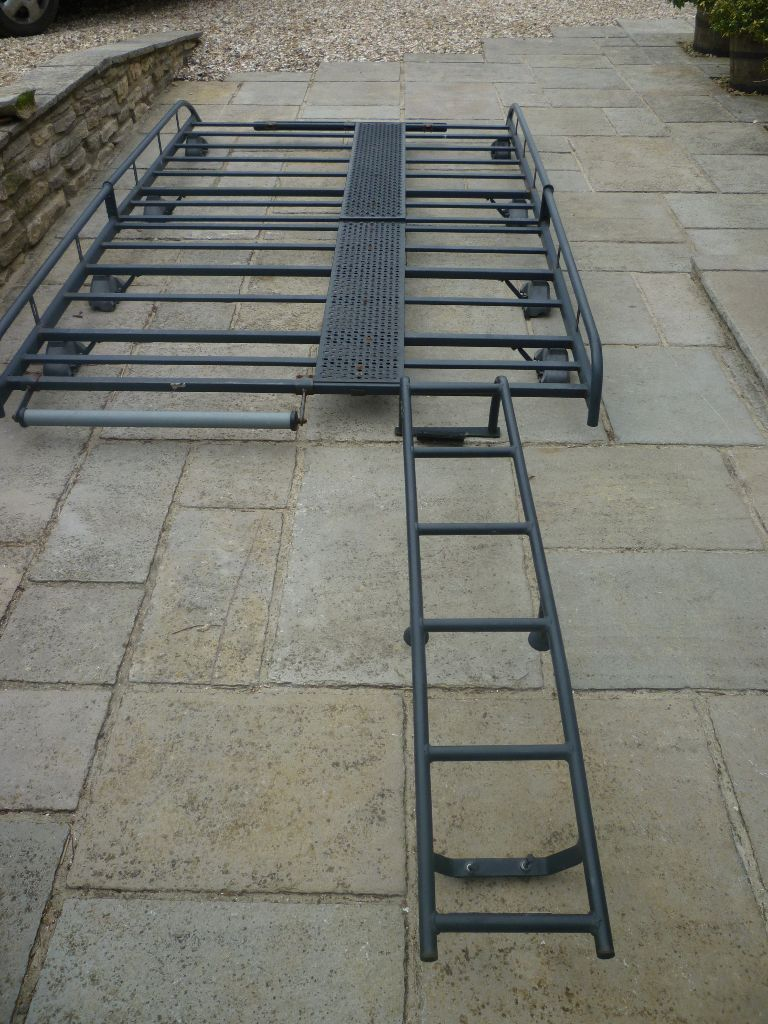 Vauxhall Vivaro Swb Roof Rack With Walkway And Ladder In