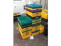 stacking crates. great for storage