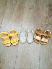 Infant size 5 sandels