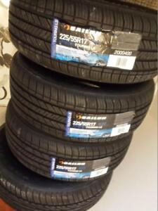 BRAND NEW WITH LABELS HIGH PERFORMANCE SAILUN ALL SEASON  TIRE 225 / 55 /  17 SET OF FOUR
