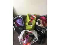 Bundle girls clothes shoes from next heelys trainers etc