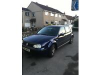 Golf 1.6 mk 4 for sale very good condition