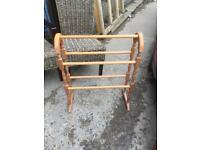 Pine towel rail