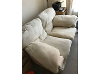 FREE...2 Seater Sofa, Cream Colour