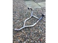 BMW R1200GS cat free headers