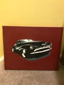 Muscle Car Painting