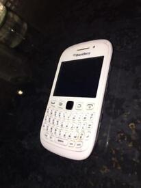 White Blackberry Curve Phone