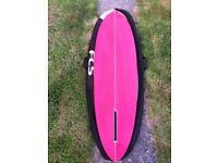"""6'4"""" Henty Surfboard (France) Single Fin"""