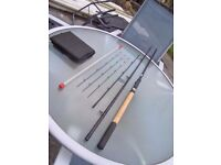As New...Match Fishing Rods...13' Float & 12' Feeder...