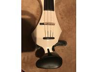 Gewa EViolin Germania Electric Violin Outfit, White