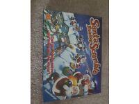 Santa rooftop board game