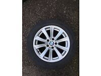 Bmw F10 17'' Alloy Whells With Run Flat Tyres