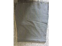 Checked Square fabric material home furniture shabby chic tweed dog coat trousers chair bed