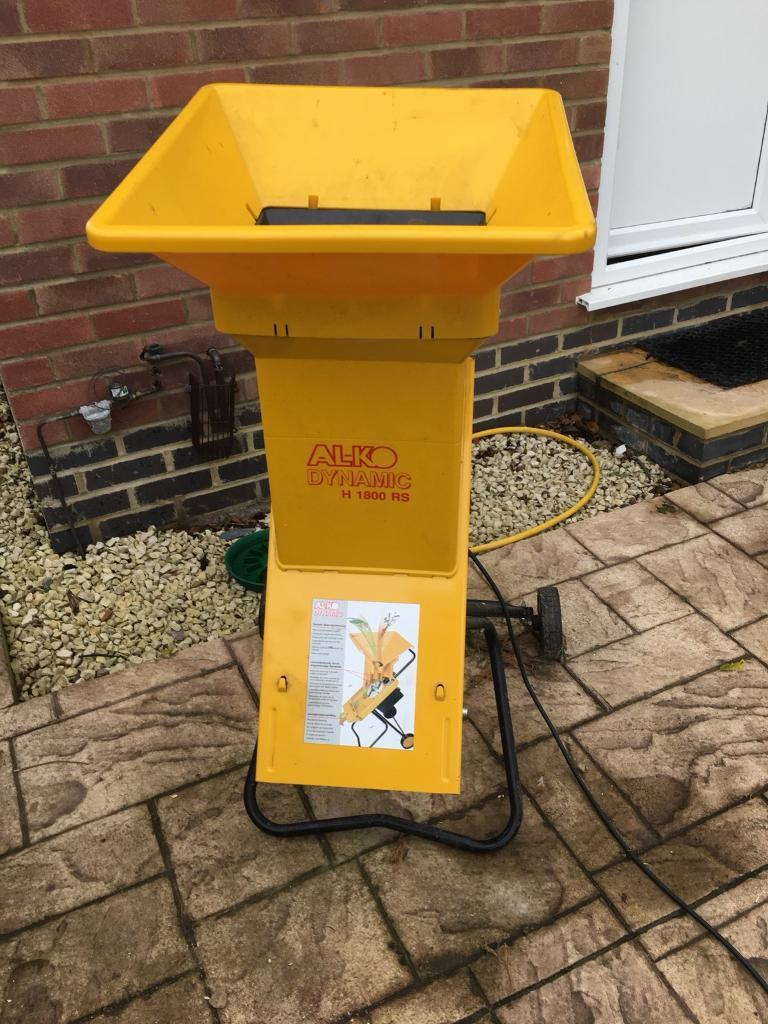 Alko heavy duty garden shredder