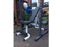 Olympic weights equipment (£1700 new!)