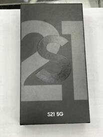 S21 5G UNLOCK BRAND NEW BOXED TWO YEARS SAMSUNG WARRANTY