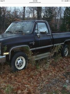 I want to buy a Chev 4x4 70's or 80's Model