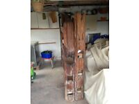 solid wood, three shelf, rustic style bookcase