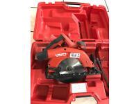 Hilti 22v circular saw (bare unit) with box