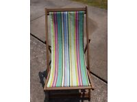 Beach Deck Chair £15