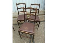 Selection Of dining chairs, Cheap!