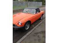 MGB roadster project