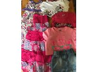 Job lot of GIRLS ONLY Clothing 2-15 years Excellent condition