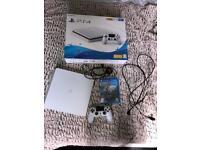 Playstation 4 Slim Glacier white