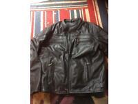 Bikers gear motorcycle leather jacket