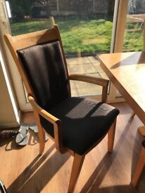 Dining table + 6 CHAIRS - £75 IF COLLECTED TODAY. - NEED GONE ASAP -