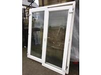 Upvc White Patio/French Doors in great working order & condition