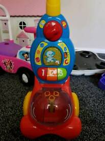 Vtech push and play hoover