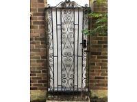 Original Vintage Wrought Iron Gates