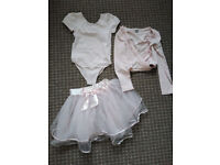 Bundle of TU Pink Ballet Clothes for girl 9-10 years in very good condition.
