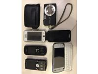 Old mobile phones & Camera