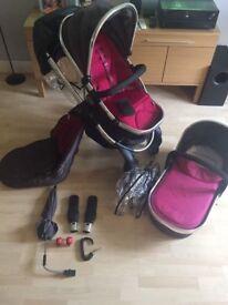 iCandy Peach 2 Berry Bon Bon Pushchairs Single Seat Stroller