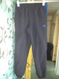 Mens voi jeans and Adidas tracksuit bottoms