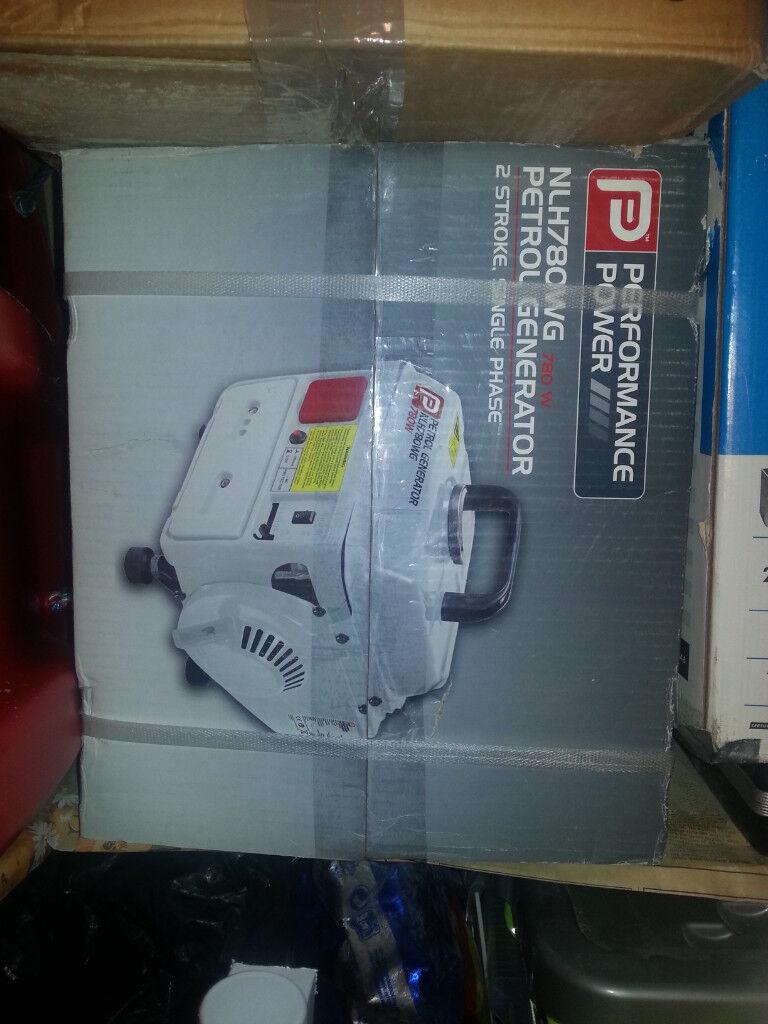 New Performance Power petrol generator (NLH780WG) 780W, 2 stroke ...