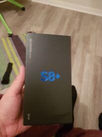 Samsung galaxy s8 plus SEALED UNLOCKED
