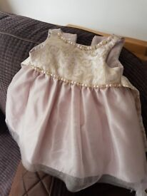 Baby dress and shoes