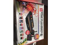 Atari flashback 6 game console and wireless controllers